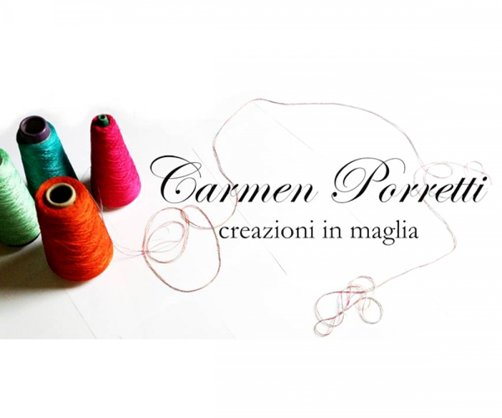 CARMEN PORRETTI creazioni in maglia - MILANO